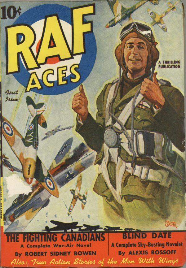RAF Aces Pulp #1 1941
