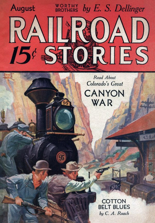 Railroad Stories August 1932