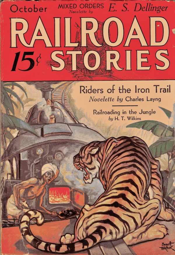 Railroad Stories Magazine October 1932