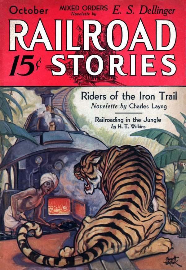Railroad Stories October 1932