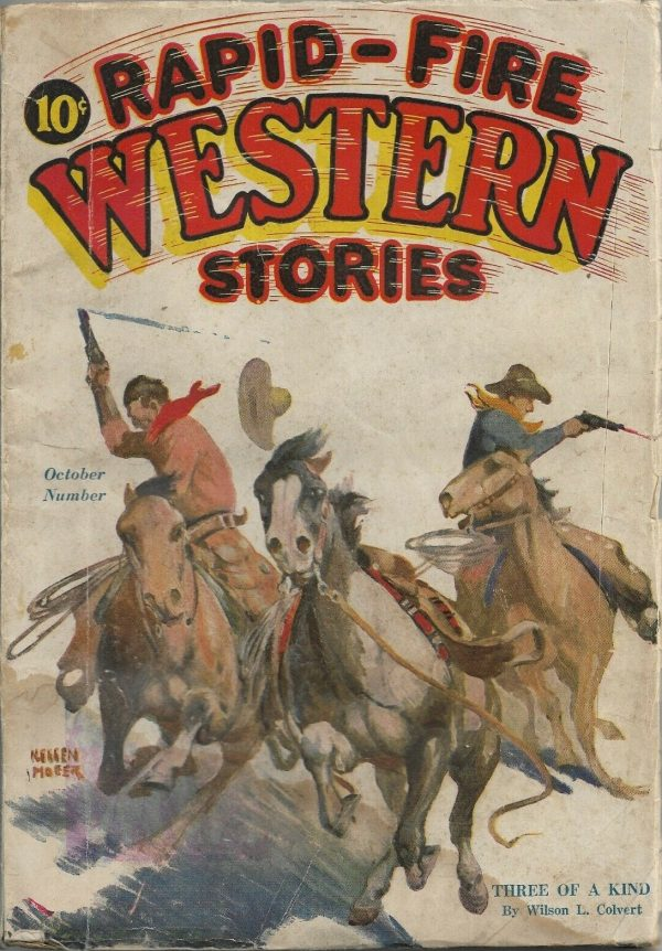 Rapid-Fire Western Stories October 1931
