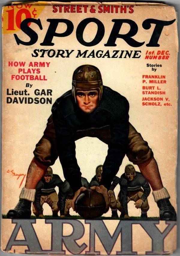SPORT STORY MAGAZINE - December 1936