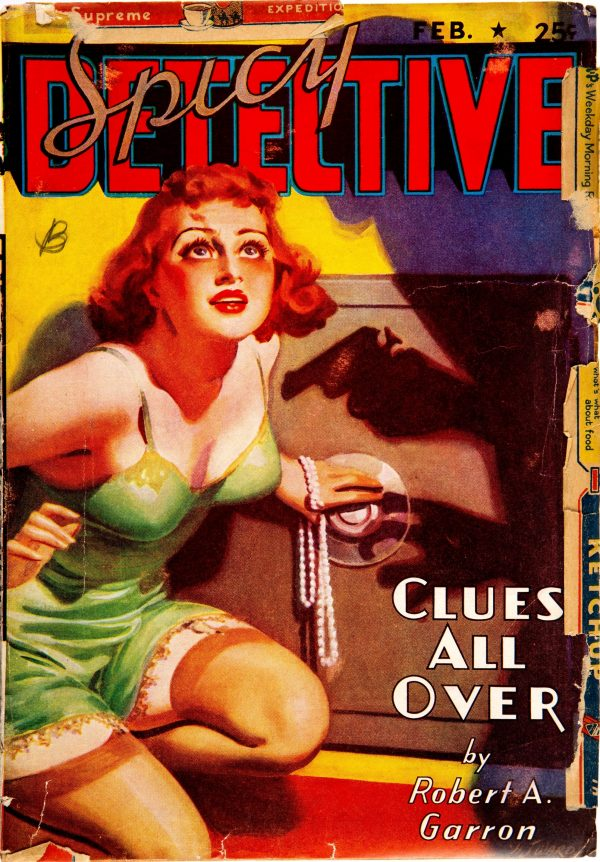 Spicy Detective Stories - February 1938