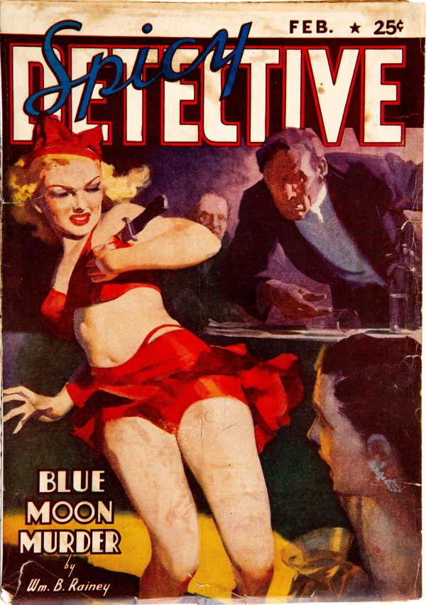 Spicy Detective Stories - February 1939