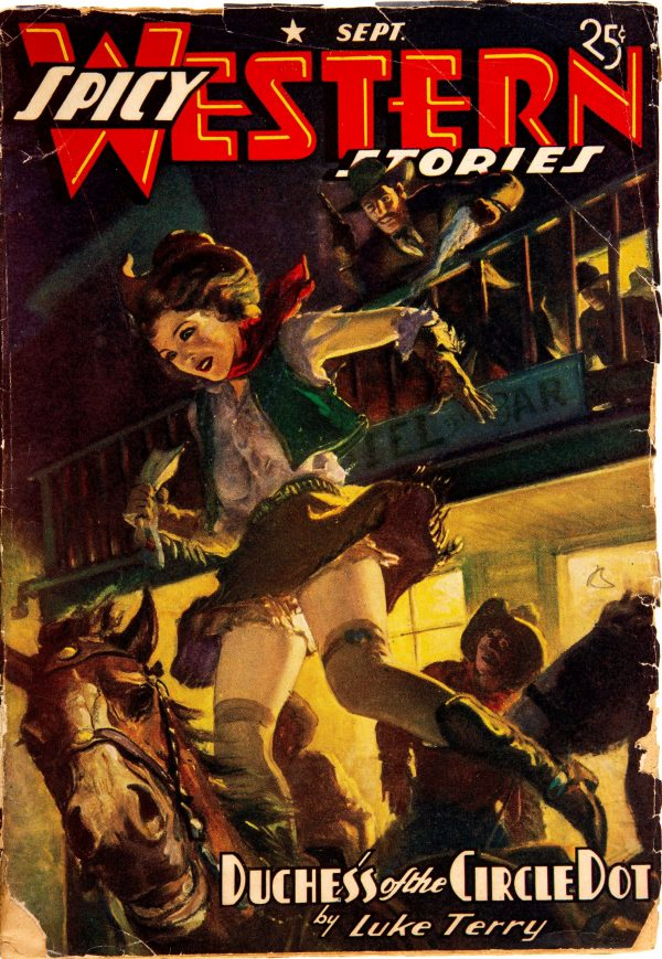 Spicy Western Stories - September 1940