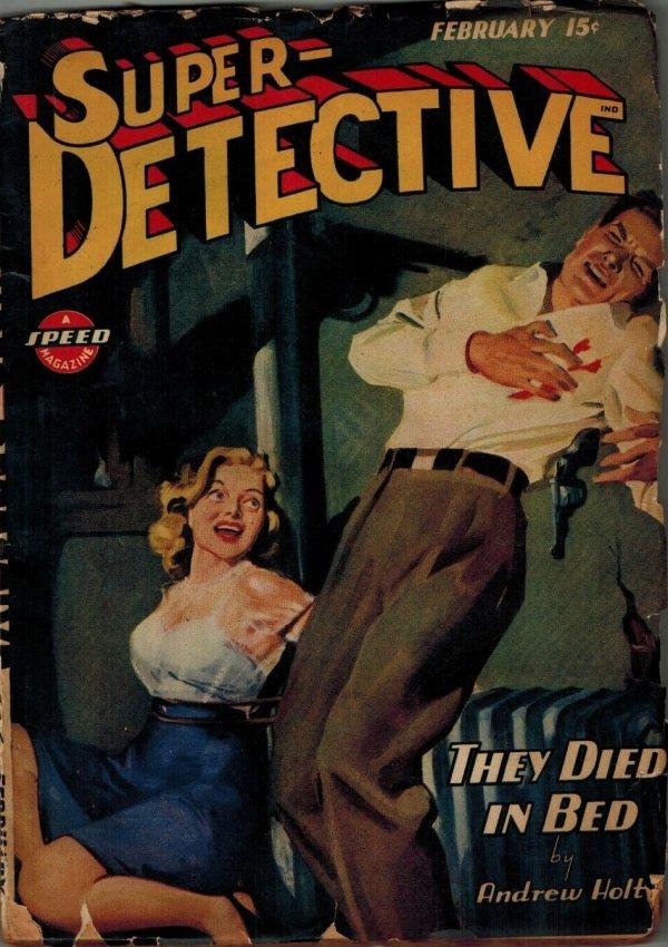 Super-Detective Magazine February 1945