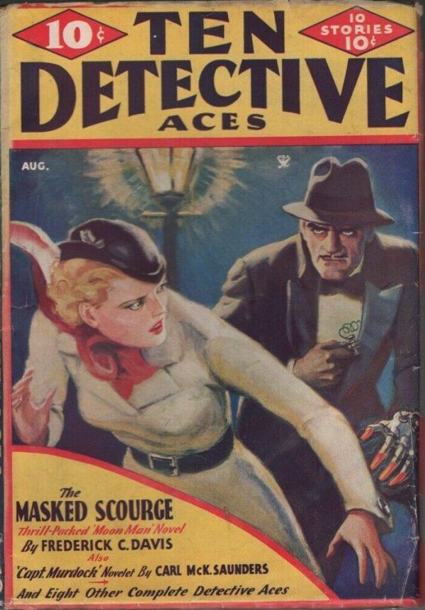 Ten Detective Aces 1935 August