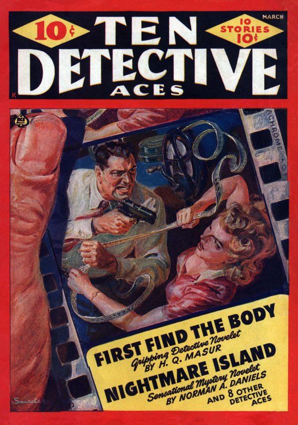 Ten Detective Aces March 1942