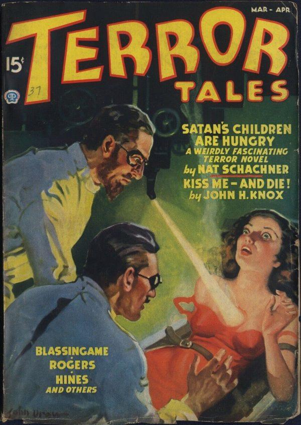 Terror Tales April 1937