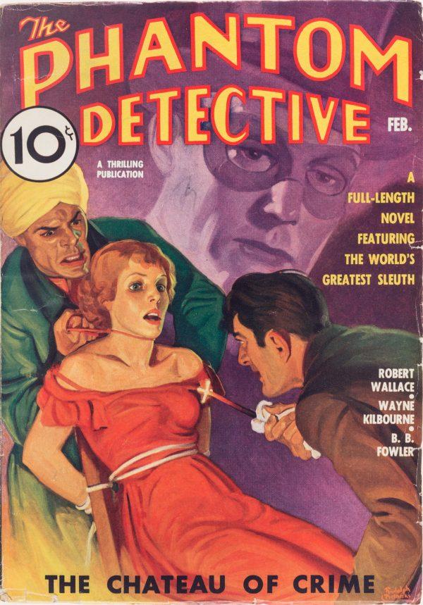 The Phantom Detective - February 1936