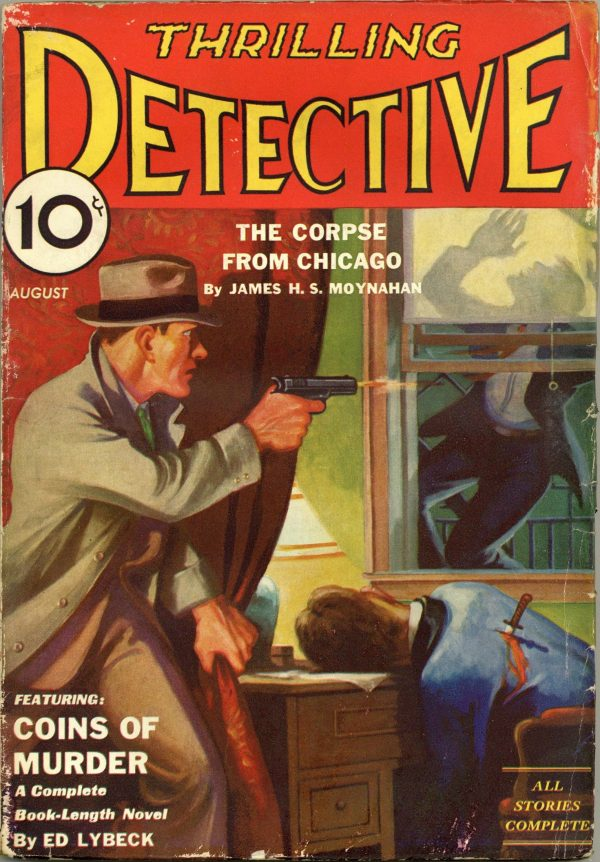 Thrilling Detective August 1933