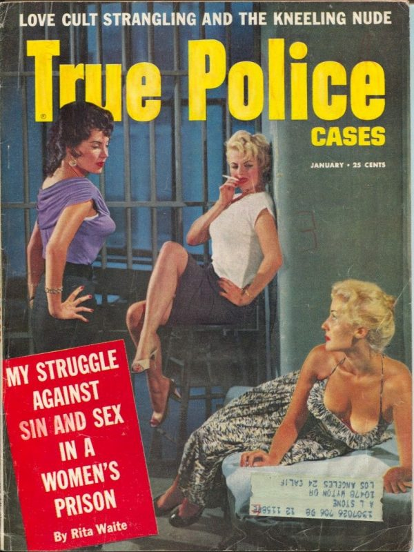 True Police Cases January 1958