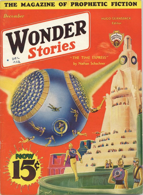 Wonder Stories December 1932