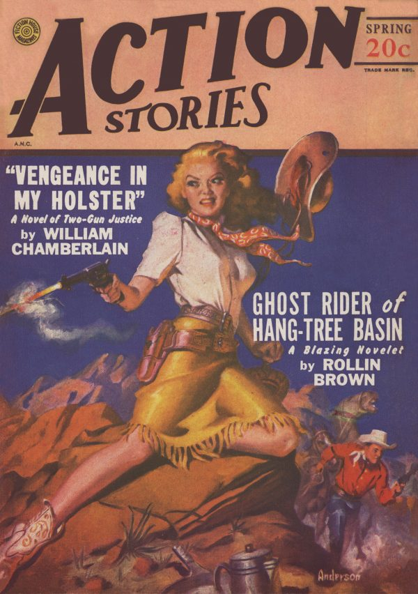 Action Stories Spring 1948