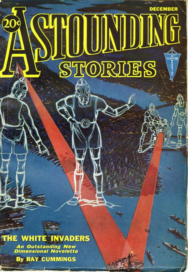 Astounding Stories December 1931 Hans Waldemar Wessolowski