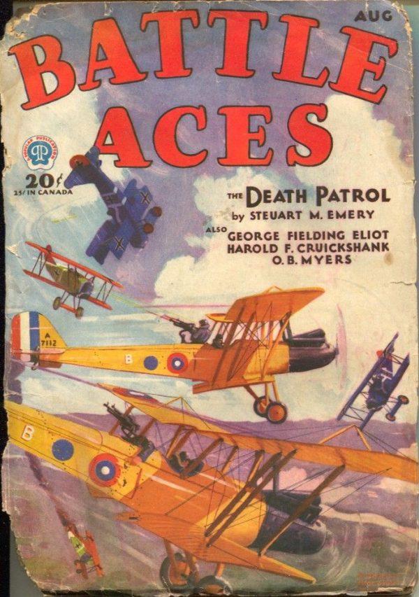 Battle Aces August 1931