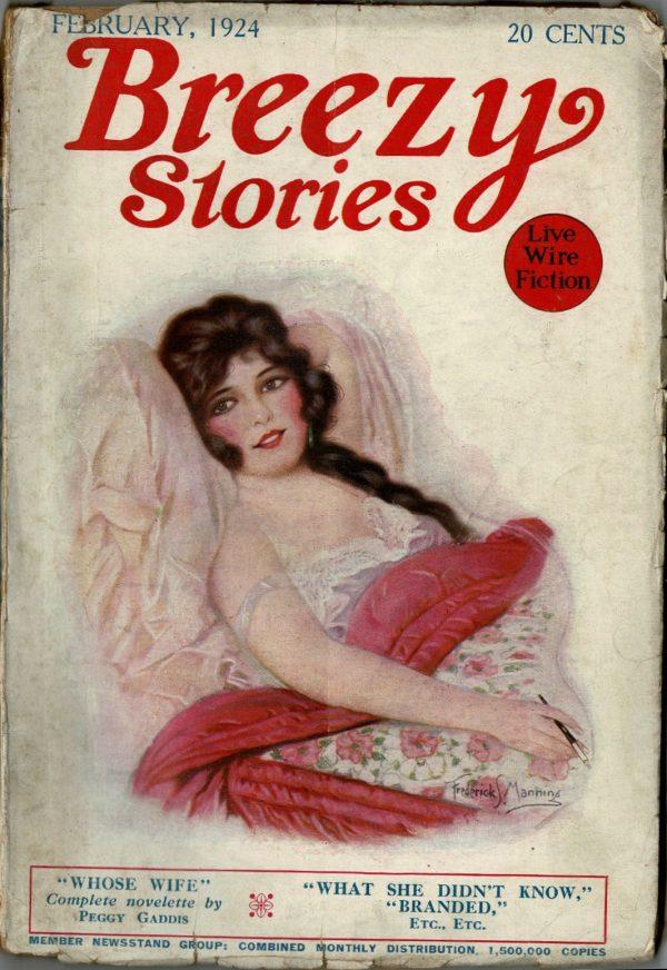 Breezy Stories February 1924