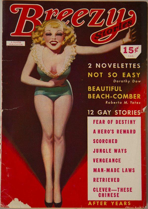Breezy Stories Magazine June 1944