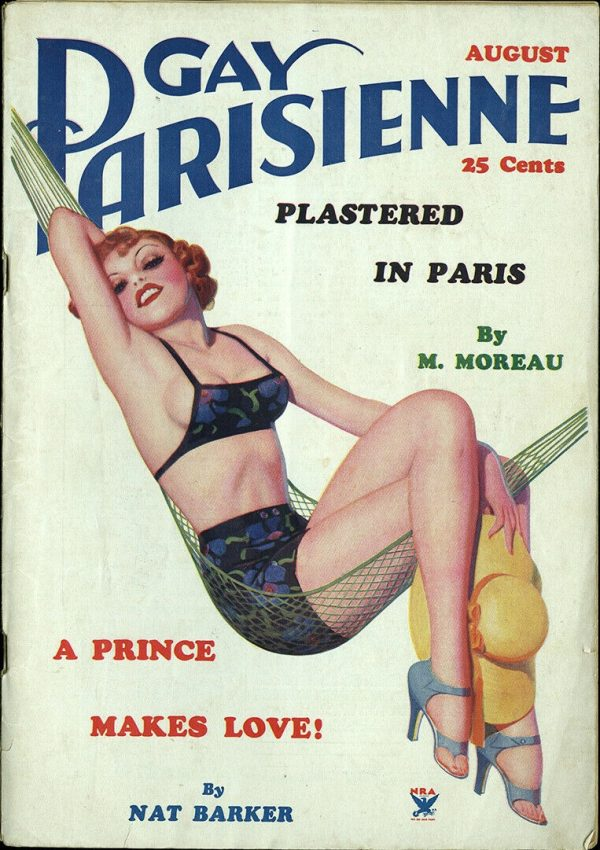 Gay Parisienne August 1935