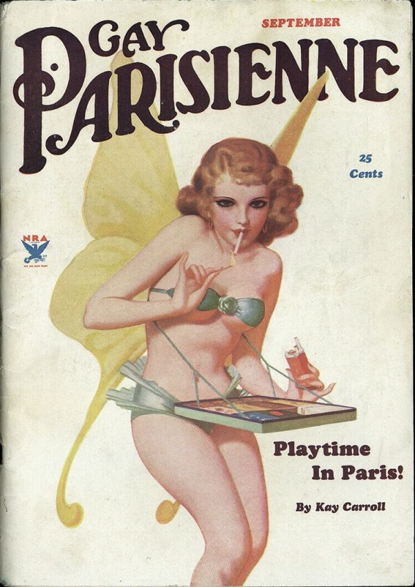 Gay Parisienne September 1934