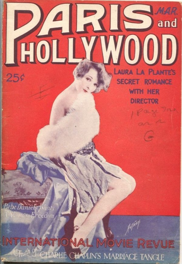 Paris and Hollywood March 1927