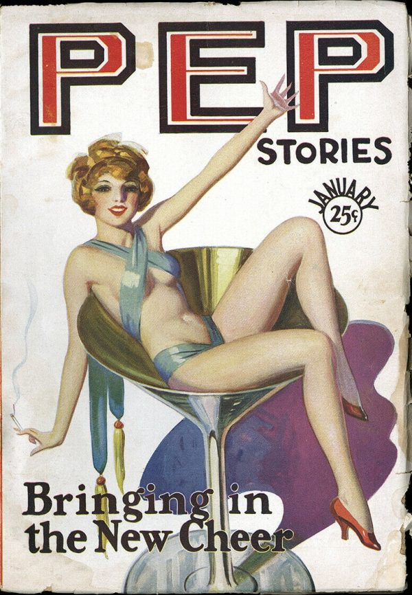 Pep Stories January 1930