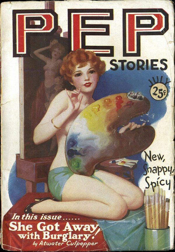 Pep Stories July 1929