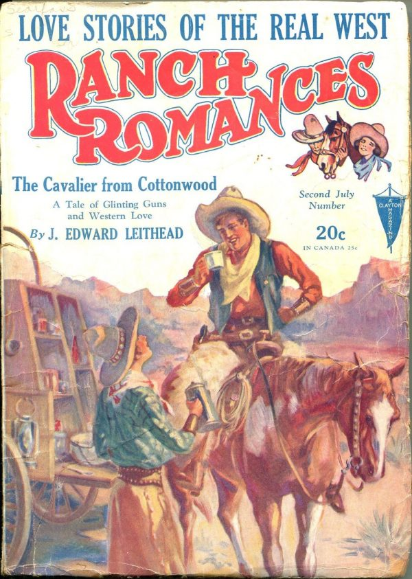 Ranch Romances July 1930