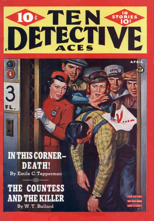 Ten Detective Aces April 1943