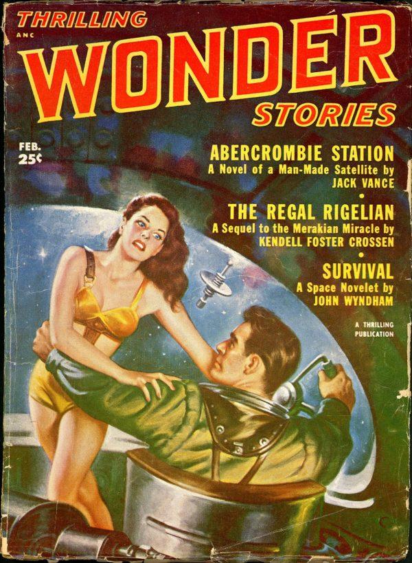 Thrilling Wonder Stories February 1952