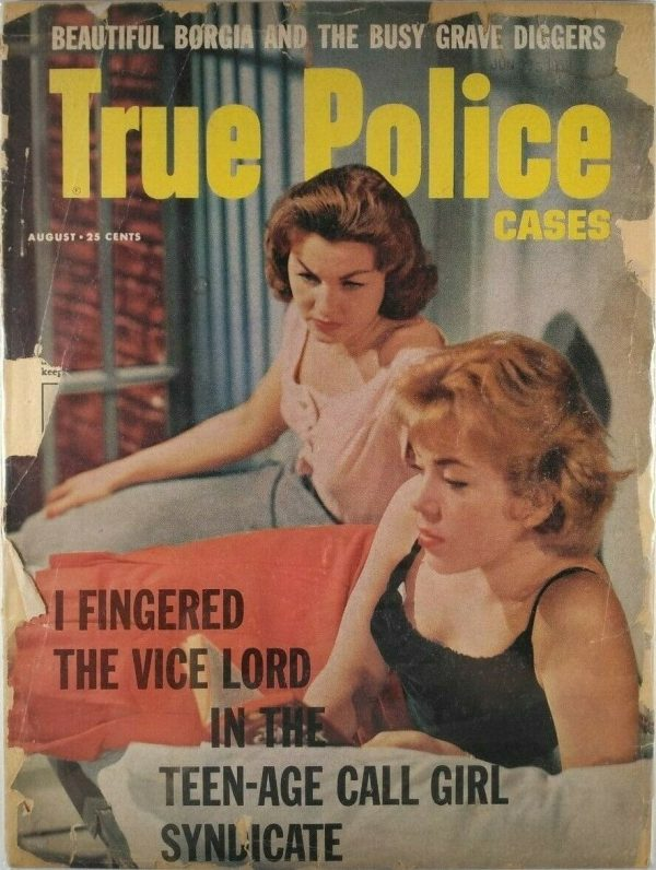 True Police Cases August 1959