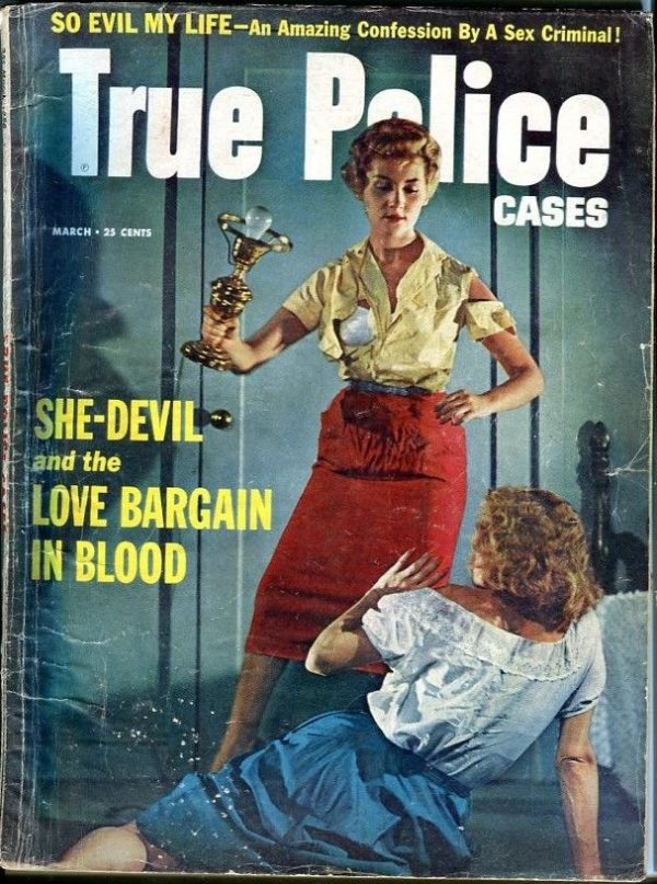 True Police Cases March 1958