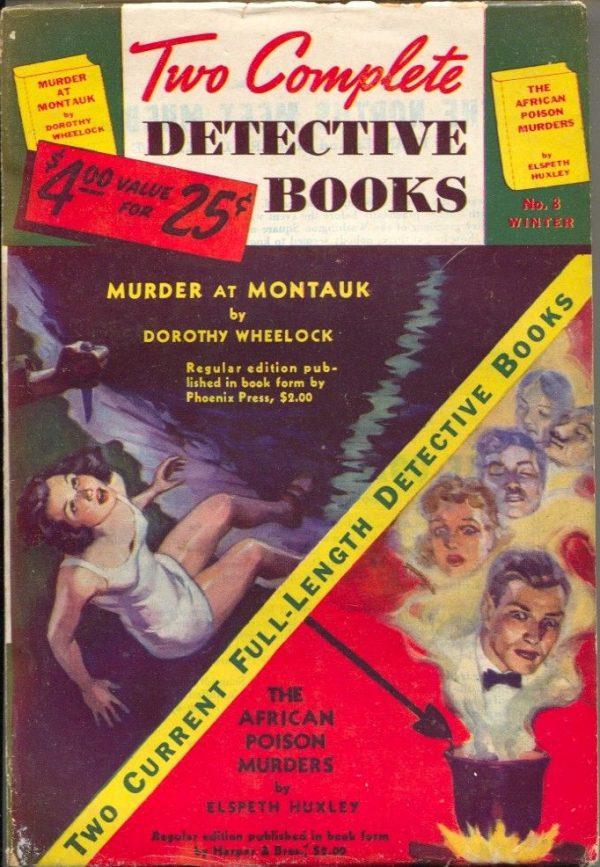 Two Complete Detective Books Winter 1940