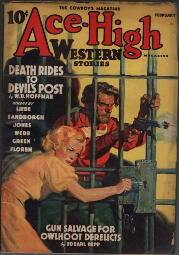 Ace High Western Stories 1940 February