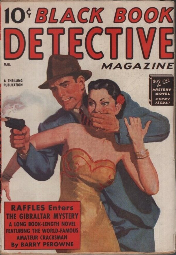 Black Book Detective 1938 March