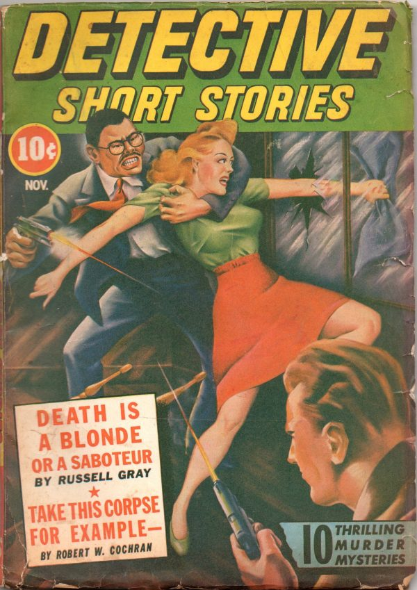 Detective Short Stories - November 1942
