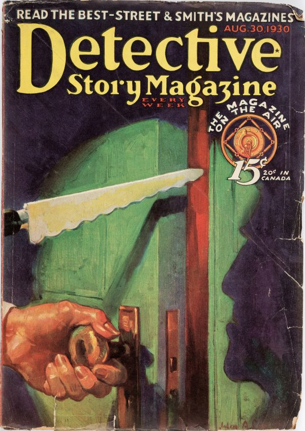 Detective Story Magazine - August 30, 1930
