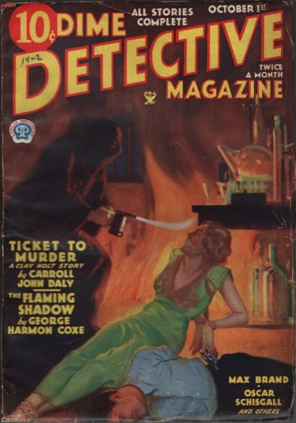 Dime Detective 1934 October