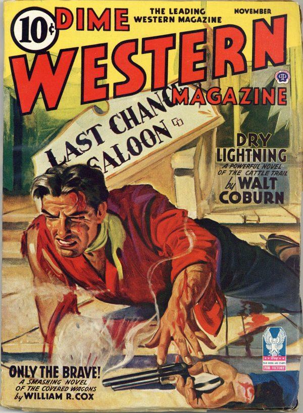 Dime Western Magazine November 1942