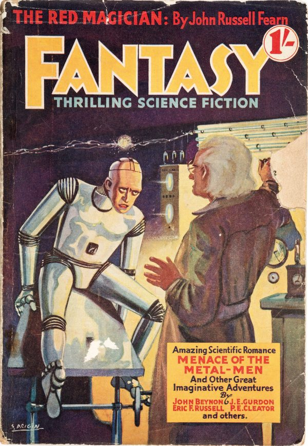 Fantasy Thrilling Science Fiction #1 1938