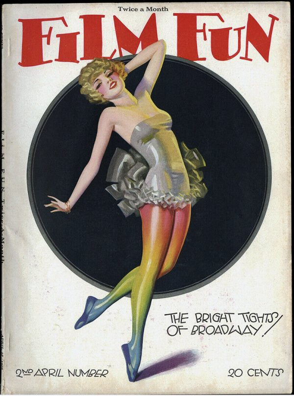 Film Fun Magazine April 1928