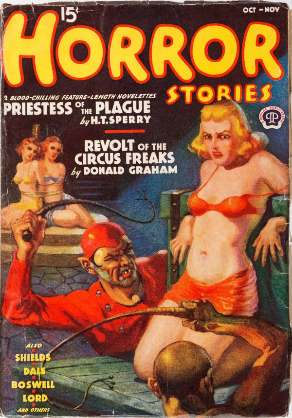 Horror Stories - October Nov1938