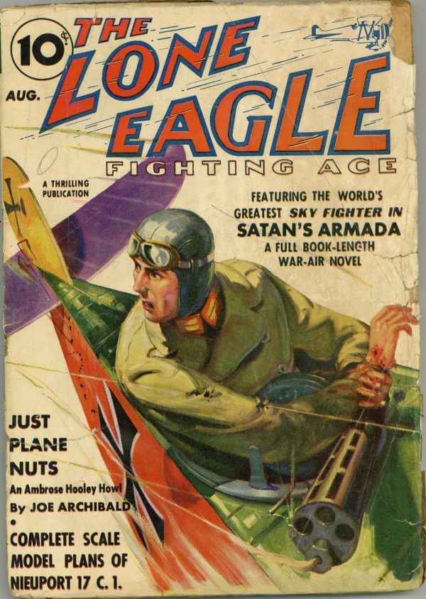 Lone Eagle August 1938