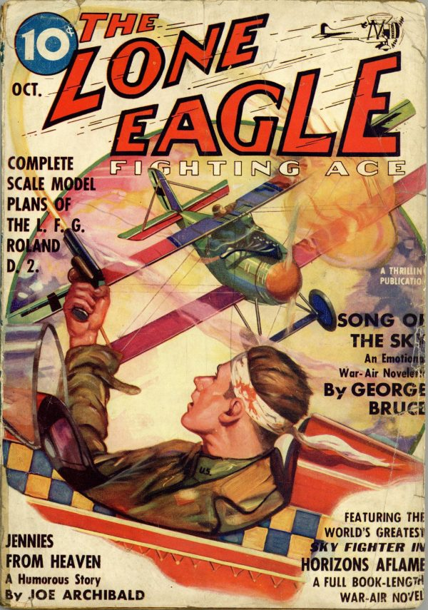 Lone Eagle October 1937