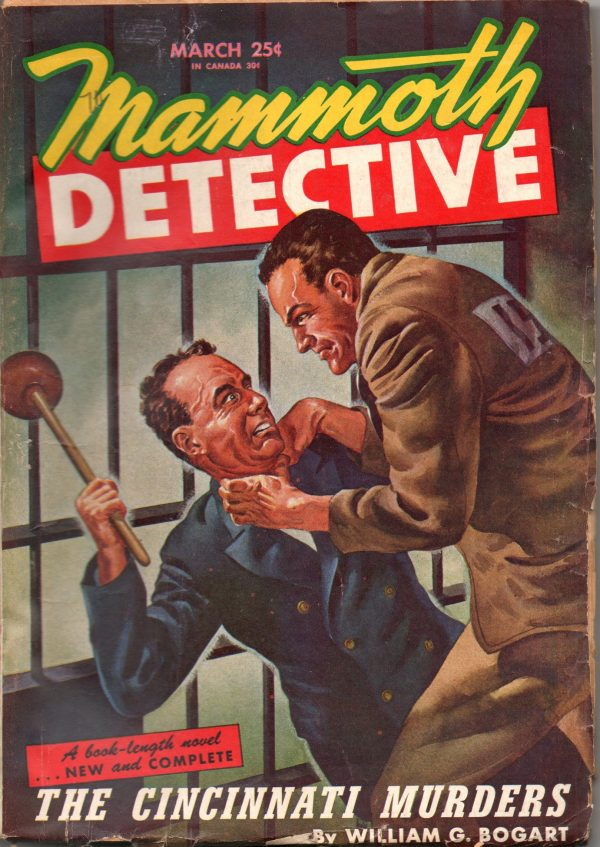 Mammoth Detective - March 1946