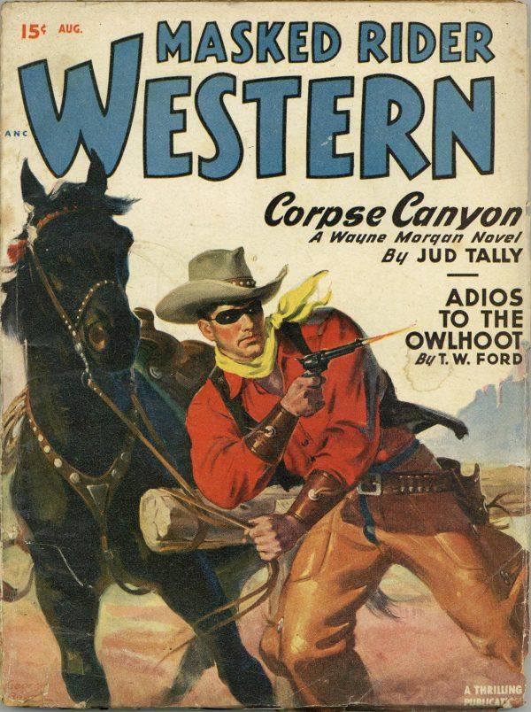 Masked Rider Western August 1949