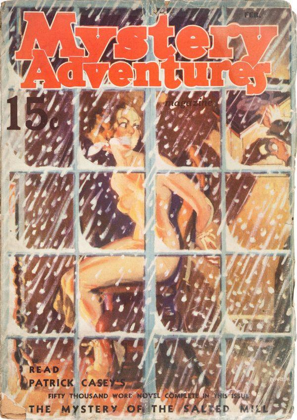 Mystery Adventures Magazine - February 1937