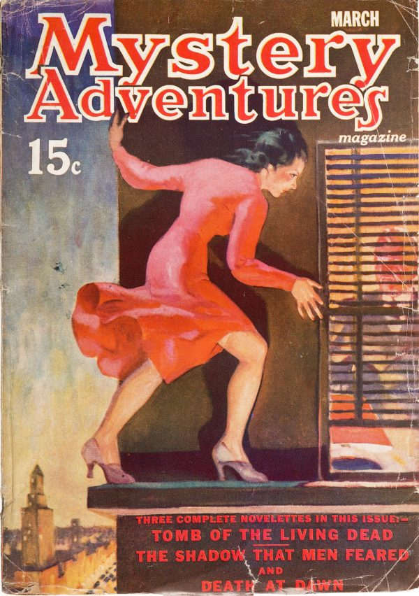 Mystery Adventures Magazine - March 1937