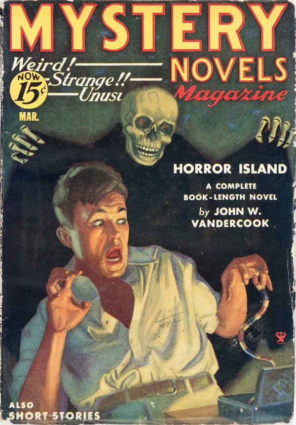Mystery Novels and Short Stories - March 1935