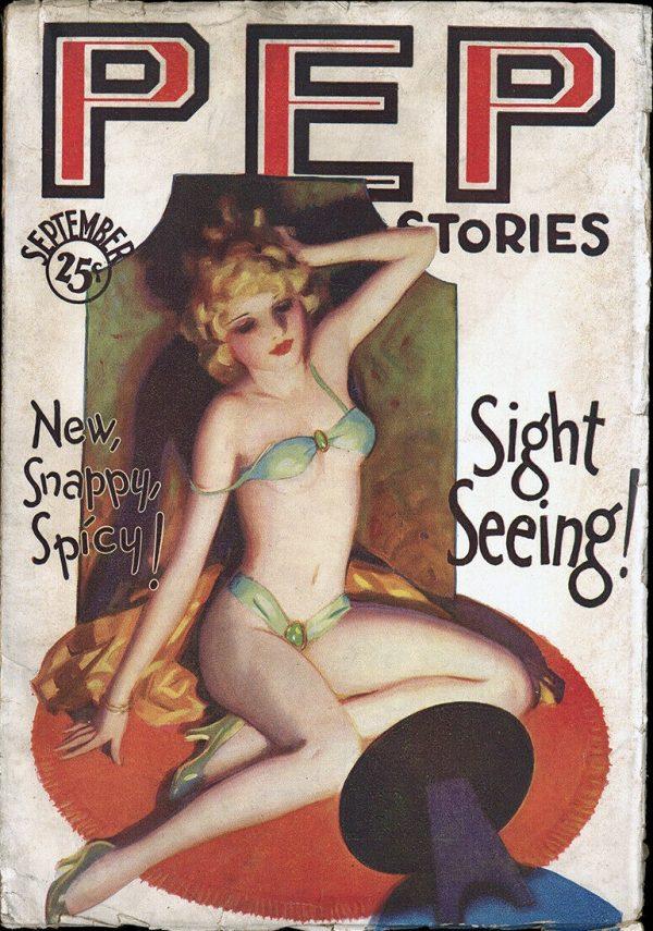 Pep Stories September 1930